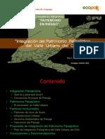 Integracion del Patrimonio Paisajistico