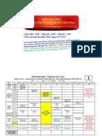 ✨  Thời khóa biểu trường Trung cấp Phương Nam tuần 13 ( Sinh viên chú ý xem kỹ ngày học,tránh nhầm lẫn)