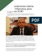 Condición de Villanueva