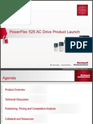 PowerFlex 525 AC Drive Internal Presentation | Automation