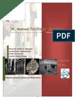 Al Mazloum Heritage Project 2012