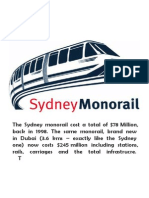 Monorail Inventory