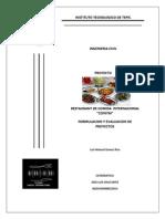 Proyecto Privado de Un Restaurant de Comida Internacional (1)