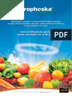 Nitrophoska Special Brochure