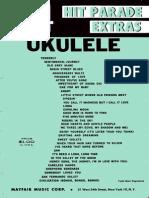 Songbook - 34 Hit Parade Extras Ukulele