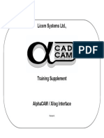 Alpha Cam Xi Log Interface