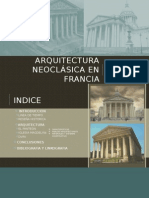Arquitectura Neoclasica en Francia