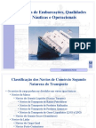 Tipos de Embarcacoes e Qualidades Nauticas
