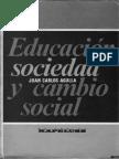 1_La Sociologia de La Educación