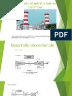 Centrales Térmicas a Gas en Colombia