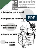 Boletín de la Facultad de Derecho y Ciencias Sociales #2