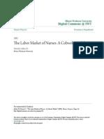 Cobweb Model_labour Nurses