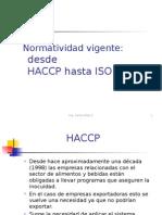 8 Normatividad y HACCP