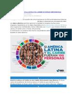 Cómo Sería América Latina y El Caribe Si Fueran 100 Personas