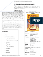 Harry Potter and the Order of the Phoenix - Wikipedia, The Free Encyclopedia
