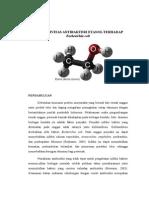 Aktivitas Antibakteri Etanol Terhadap Eschericia Coli