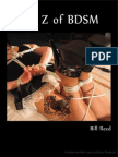 A to Z of BDSM