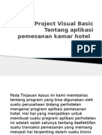 Project Visual Basic Tentang Aplikasi Pemesanan Kamar Hotel
