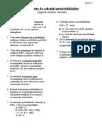 Elemente de Calculul Probabilitatilor