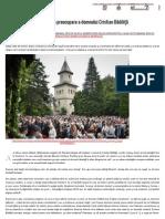 Teologia Megafoanelor, Noua Preocupare a Domnului Cristian Bădiliţă _ Doxologia