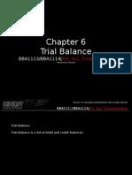 Chap6 Trial Balance