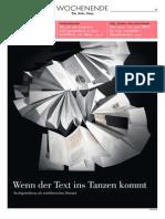 2015 Wenn Der Text Ins Tanzen Kommt_NZZ