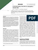 BITNO ZA POCETAK Early Bioinformatics the Birth of a DisciplinOuzounis