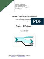 DRAFT BREF Energy Efficiency Techniques En