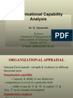 5 Organisational Appraisal