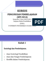 Kuliah 1 - KPS 3014