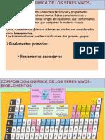 Bioelementos, Agua y Sales Minerales