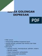 NAPZA GOLONGAN DEPRESAN