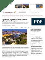 Site Francês Apresenta 34 Razões Para Não Pôr Os Pés Em Portugal - Visao