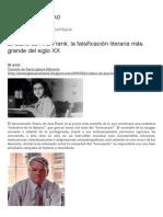 El Diario de Ana Frank, La Falsificación Literaria Más Grande Del Siglo XX _ RADIO CRISTIANDAD