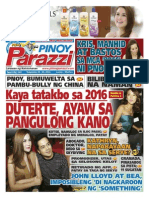 Pinoy Parazzi Vol 8 Issue 140 November 23 - 24, 2015