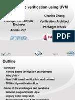 Migrating Vlog to UVM FPGA Core v DVCon 2013 Pres