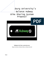 New Balance Hubway System Proposal
