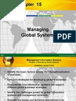 Managing Global System