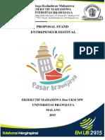 PROPOSAL STAND Entrepeneur Festival PB 3