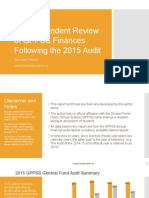 GPPSS 2015 Audit Review
