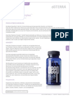 Deep Blue Polyphenol Complex Product Information Page (German) Europe 9802
