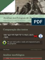 Análise Morfológica de Jó 42.2