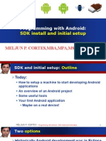 MELJUN CORTES ANDROID Lecture Sdk Install
