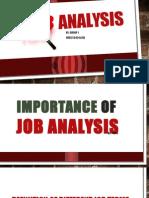 Job Analysis (Human Resource Development)