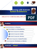 MELJUN CORTES ANDROID Lecture Architecture