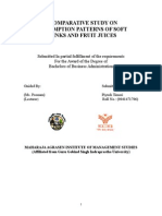 A Comparative Study on Consumption Patterns of Soft Drinks and Fruit Juices (2)