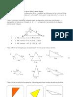 Clasificacion de Triangulos y Construccion