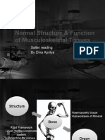 Normal Structure & Function of Musculoskeletal Tissues CIA