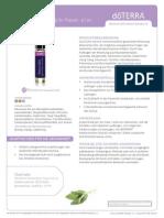 ClaryCalm Product Information Page (Deutsch) Europe 2466