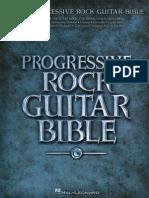 Progressive Rock Guitar Bible - 2009